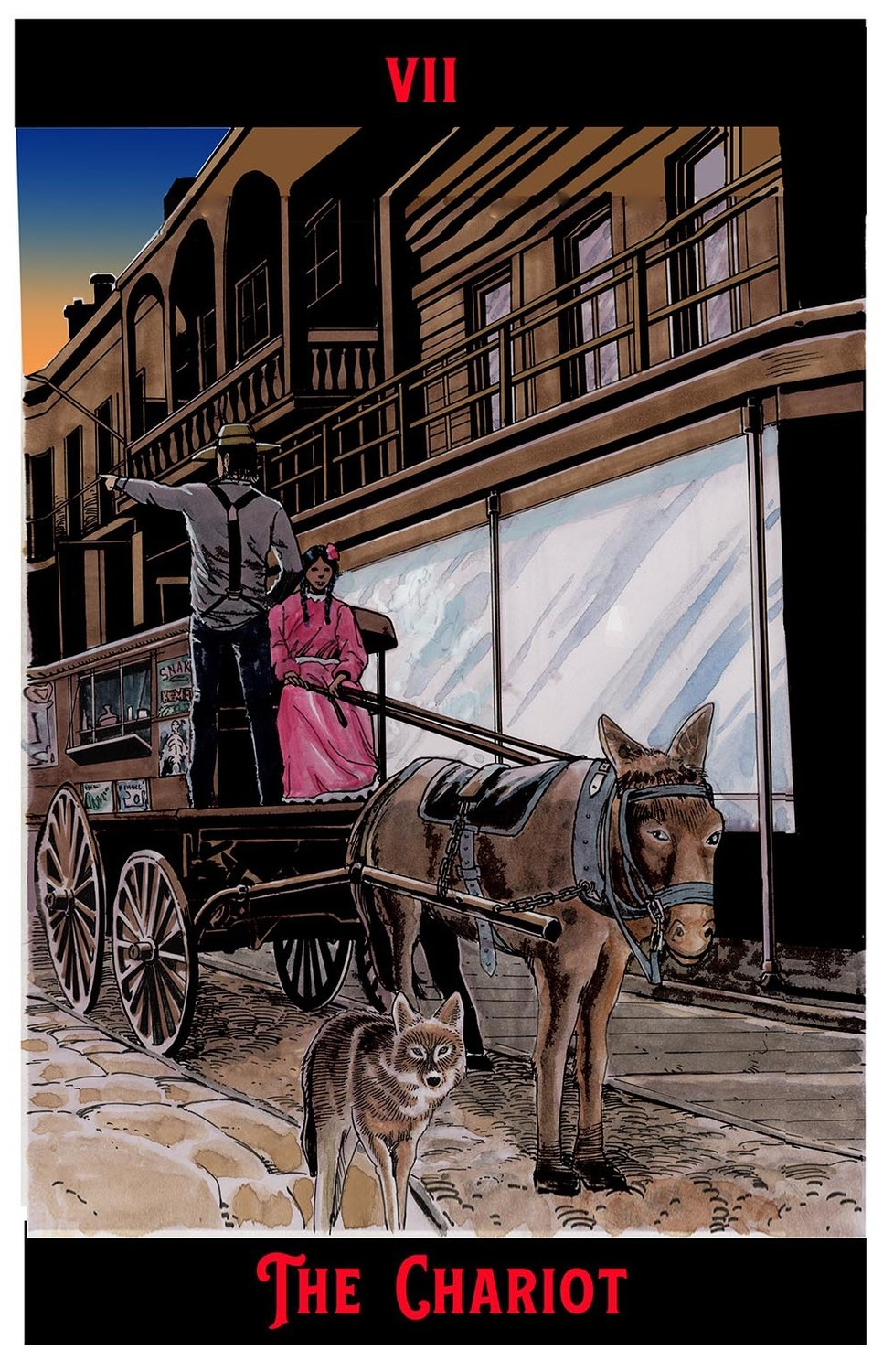 """The Chariot Print  11"""" x 17"""""""