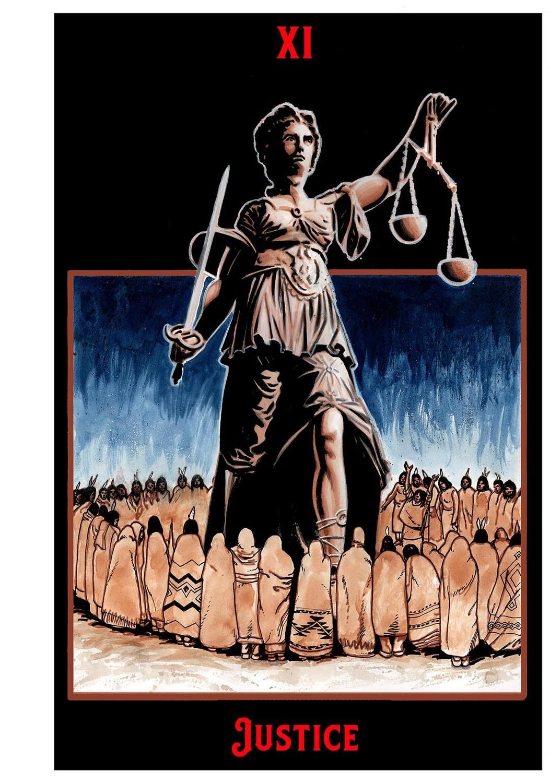 "Justice Print  11"" x 17"""