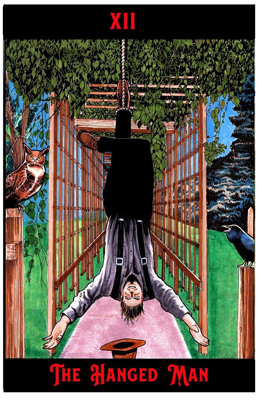 "The Hanging Man Print 11"" x 17"""
