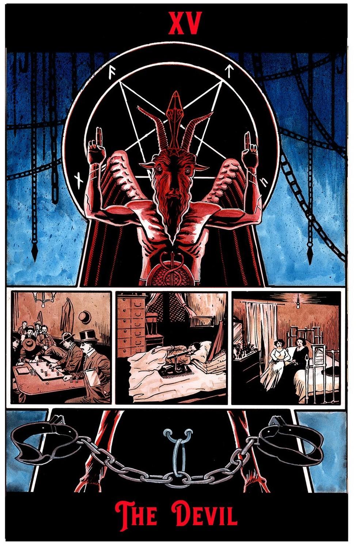 "The Devil Print  6"" x 9"""