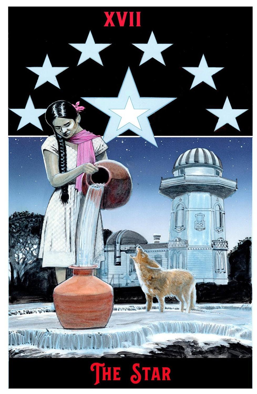 "The Star Print  11"" x 17"""