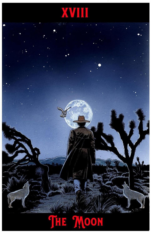 "The Moon Print  11"" x 17"""