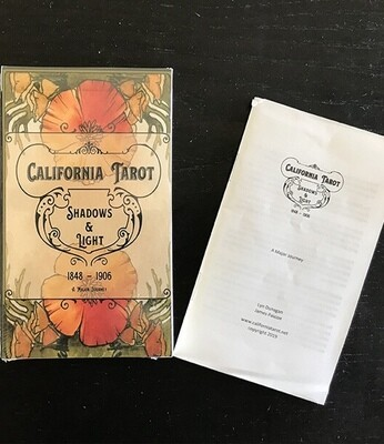 California Tarot 22 card 'Majors Only' deck