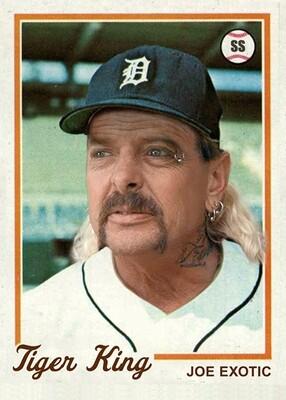 Joe Exotic Baseball Card!