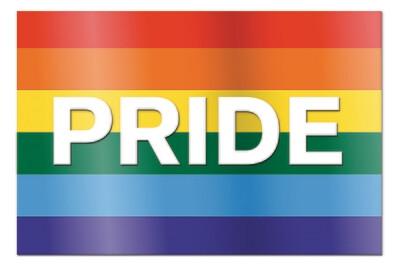 """Pride Yard Sign - 18"""" x 24"""""""