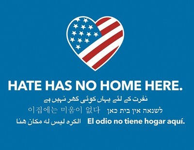 Hate Has No Home Here - Yard Sign