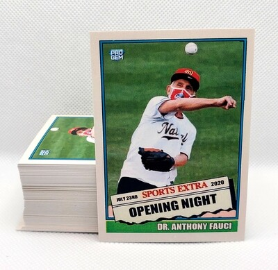 Dr. Anthony Fauci - Sports Extra Opening Night - Limited Edition - RARE