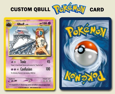 Qbull - Custom Pokemon Card