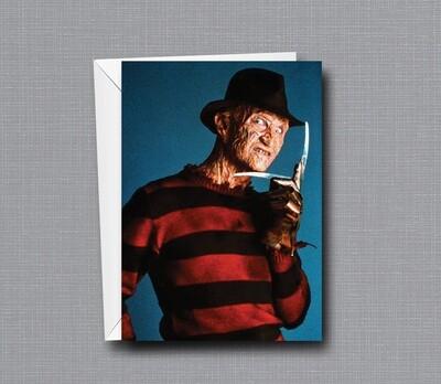 Freddy Krueger - Killer Birthday Card