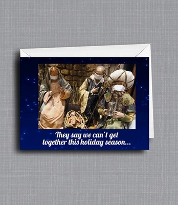 It's Christmas Miracle! - Greeting Card - Funny