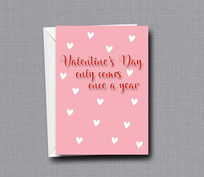 Flowers are Expensive - Funny Valentine's Day Card