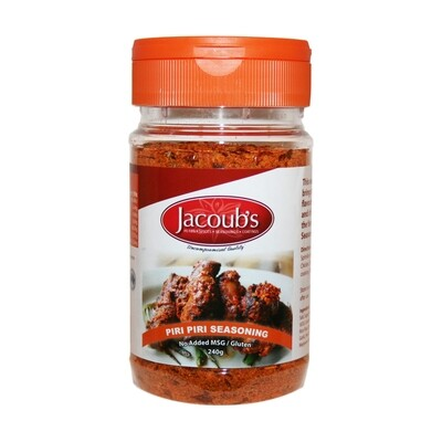 Jacoubs Piri Piri Seasoning - 240g
