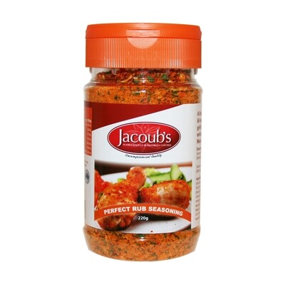 Jacoubs Perfect Rub Seasoning - 220g