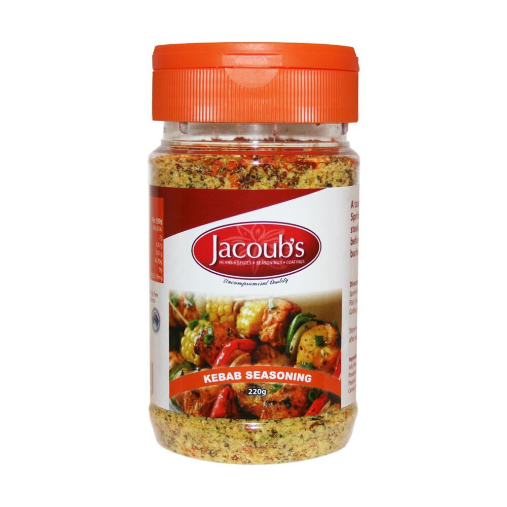 Jacoubs Kebab Seasoning - 220g