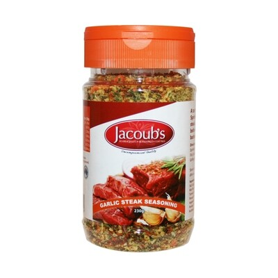 Jacoubs Garlic Steak Seasoning - 230g
