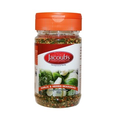Jacoubs Garlic Supreme Seasoning - 160g