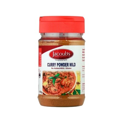 Jacoubs Curry Powder Mild - 170g