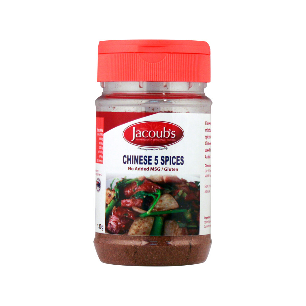 Jacoubs Chinese 5 Spices - 130g