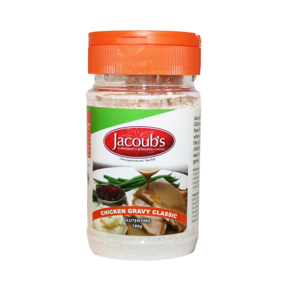 Jacoubs Chicken Gravy Classic - Gluten Free - 180g