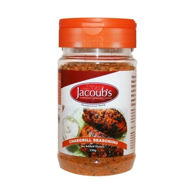 Jacoubs Chargrill Seasoning - 230g