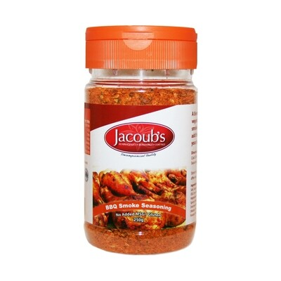 Jacoubs BBQ Smoke Seasoning - 250g