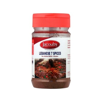Jacoubs Lebanese 7 Spices - 140g