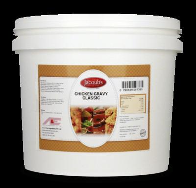 Jacoubs Chicken Gravy Classic - Gluten Free - 7.5kg