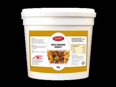 Jacoubs Rich Brown Gravy - 2kg Pail