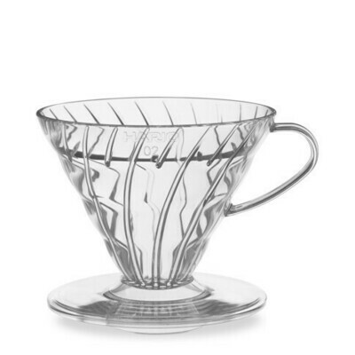 Hario V60 Plastic - 1 Cup (Clear)