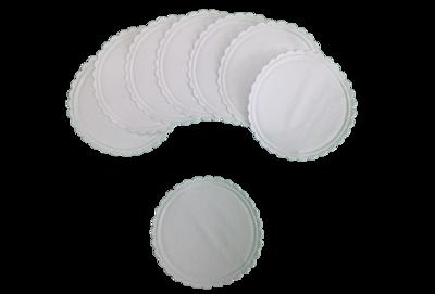 80mm Diameter Plain Coasters
