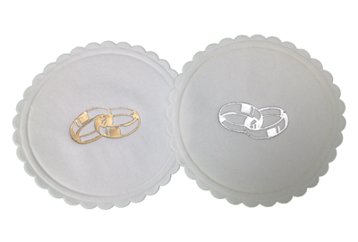 Entwined Wedding Ring Coasters