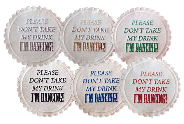 Wedding Party Paper Coasters