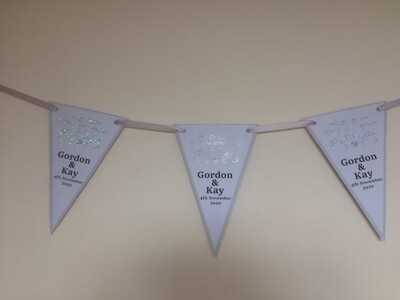 60th Diamond Anniversary Bunting
