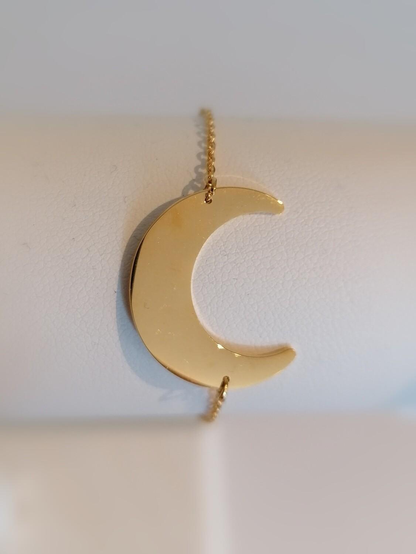 Armband - ABBY - gouden maan