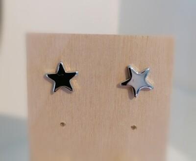 Zilveren stekertjes - gevulde sterretjes - MULAN
