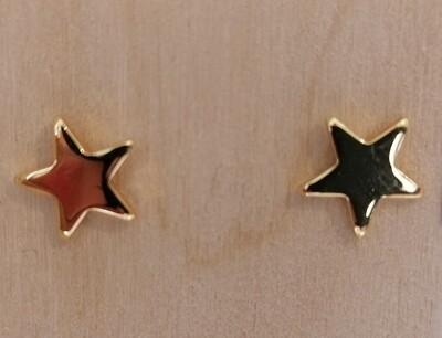 Gouden stekertjes - gevulde sterretjes - SOFIE