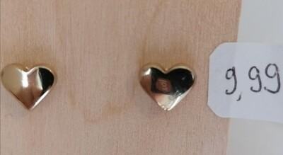 Gouden stekertjes - gevulde hartjes - JULIA