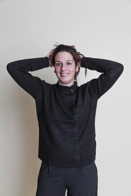 Knitwear trui/vest - LIV - zwart