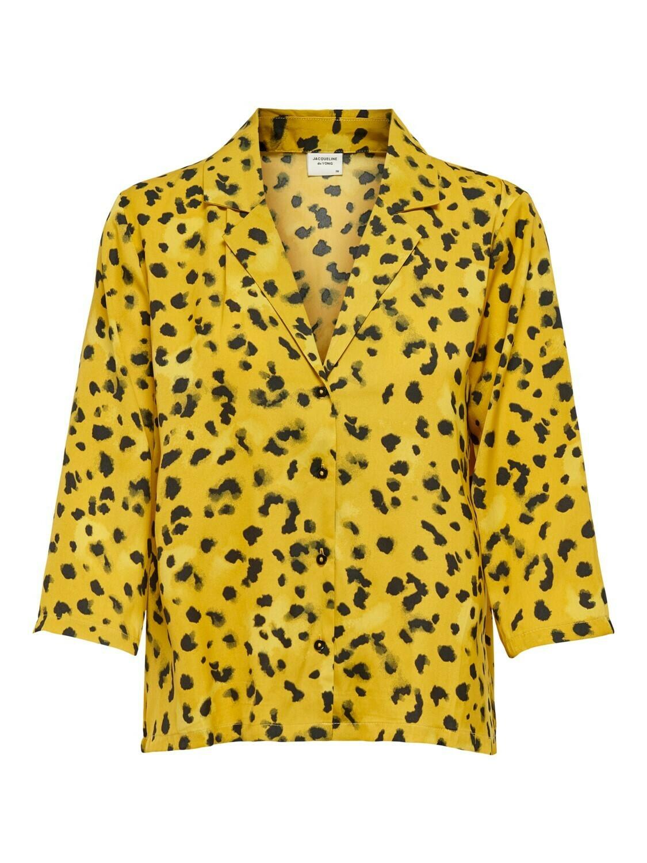 Blouse - ROCK - leopard geel