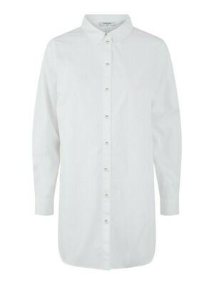 Lange hemdblouse - NOMA - wit