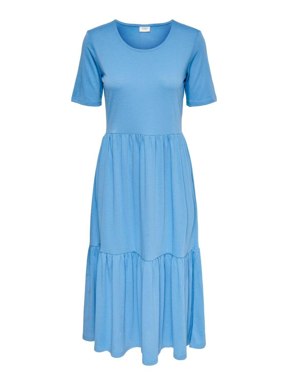* Midi jurk - DALILA - lichtblauw