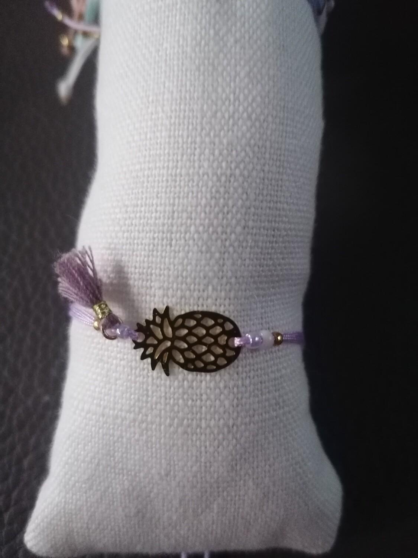 Armband voor kinderen - LOTTE - lila