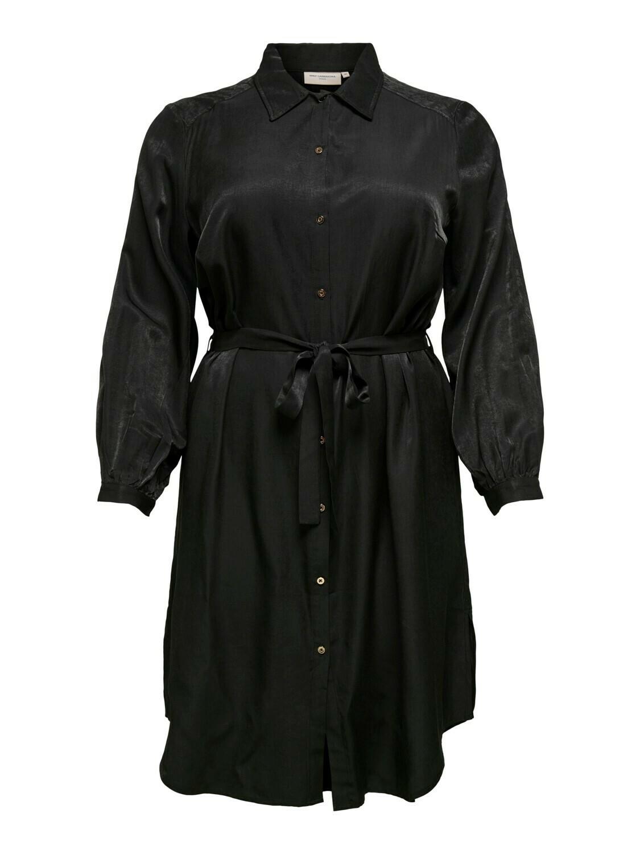 (*) + Midi jurk - TALIA - zwart