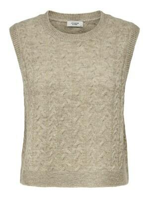 (*) Knitwear debardeur - RACHEL - beige