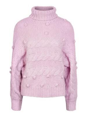 (*) Knitwear trui - DARPER - zachtroze