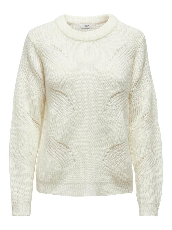 (*) Knitwear trui - NEW DAISY - wit