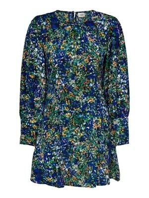 * Korte jurk - MALTA - multicolor bloemen
