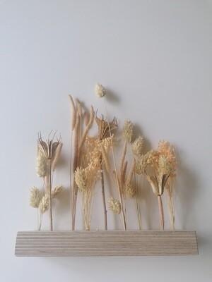 Droogbloemen flowergram - keuze 1