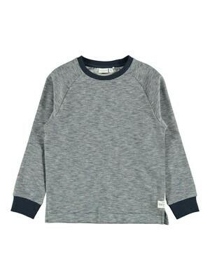 KIDS Trui - VILMAR - donkerblauw/wit