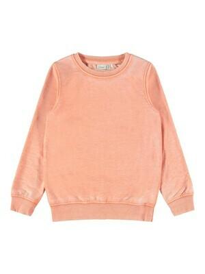 *  KIDS Trui sweater - FAHIM - koraalrood